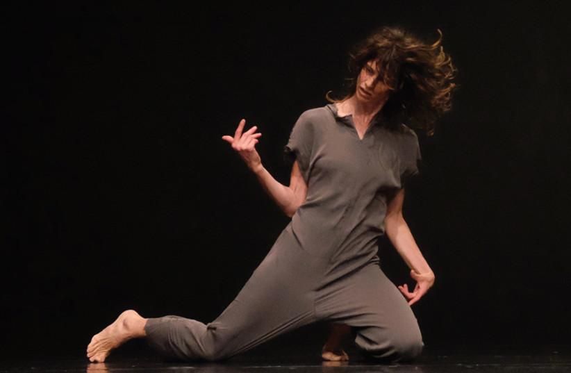 A PERFORMANCE of Iris Erez's 'Locally.' (photo credit: NINO HERMAN)