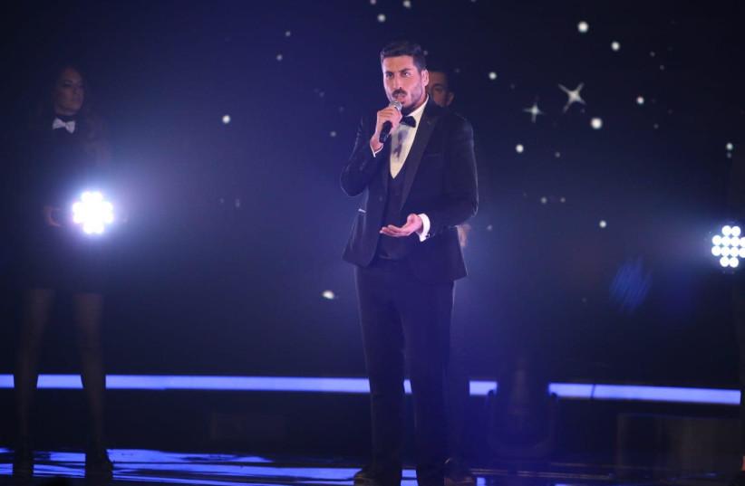 Israel's Eurovision contestant Kobi Marimi. (Ortal Dahan) (photo credit: ORTAL DAHAN)