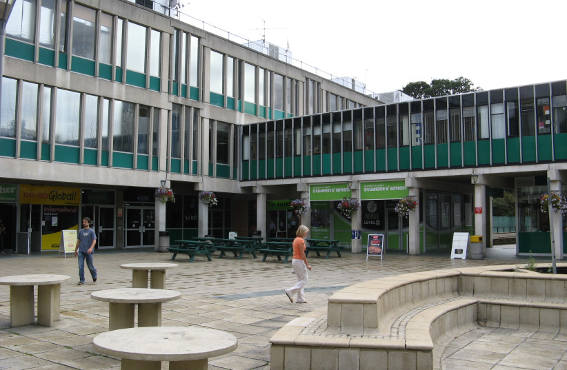 Students' Union, University of Essex, Colchester Campus, across Square 3 (photo credit: Wikimedia Commons)