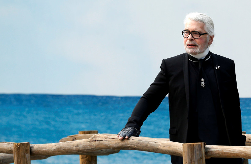 Picture of Karl Lagerfield (photo credit: Courtesy)