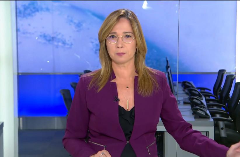 Channel 13 anchorwoman Oshrat Kotler (photo credit: FACEBOOK)