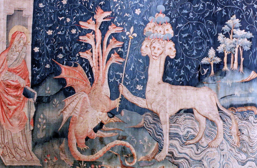 Tapisserie de l'Apocalypse 1377 - 1382 (photo credit: Wikimedia Commons)