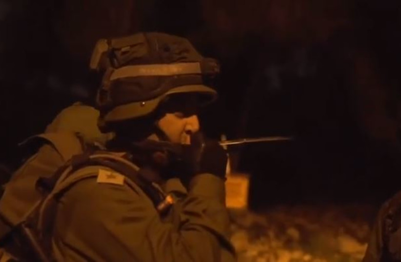 IDF soldiers in action. (photo credit: screenshot)