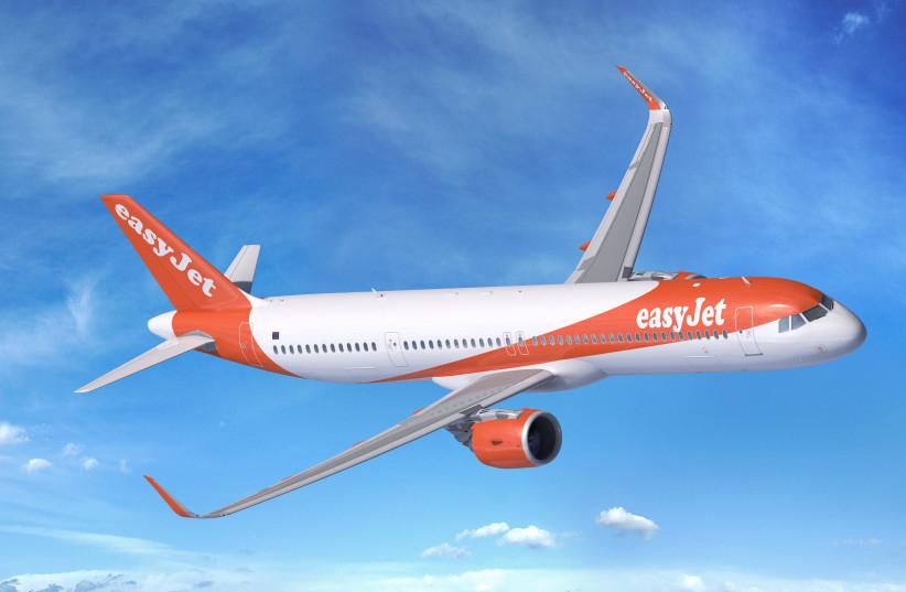 easyJet's Airbus plane (photo credit: Courtesy)