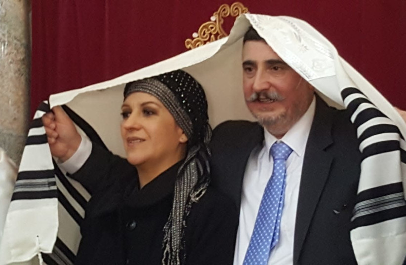 A COUPLE with Conversos ancestors weds in Monte, Portugal. (Photos: Courtesy) (photo credit: Courtesy)