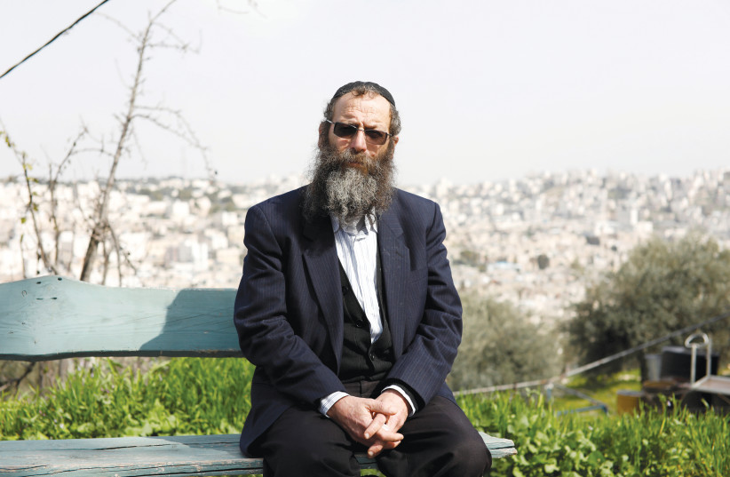 BARUCH MARZEL, from the Otzma Yehudit political party, in Hebron this week. (photo credit: REUTERS)