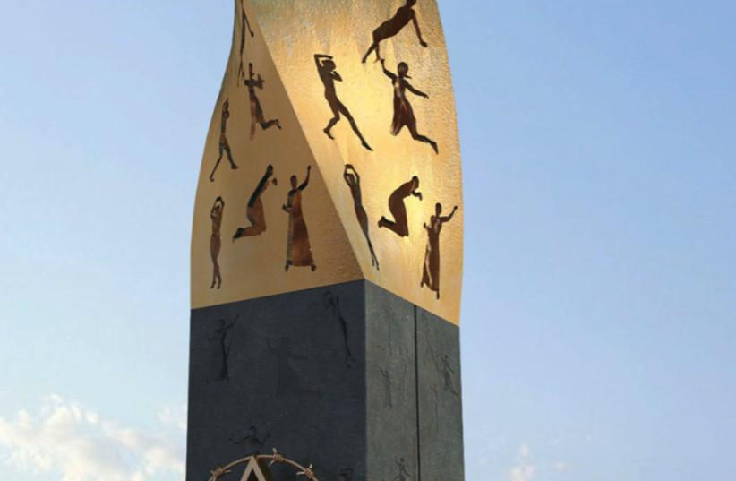 Siege of Leningrad monument (photo credit: EURO-ASIAN JEWISH CONGRESS (EAJC))