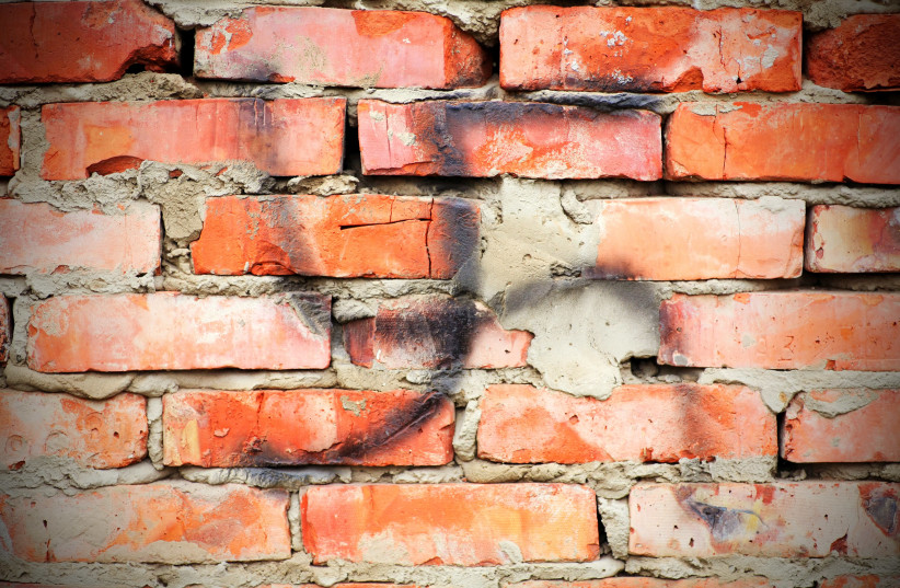 Swastika on a wall (illustrative) (photo credit: INGIMAGE)