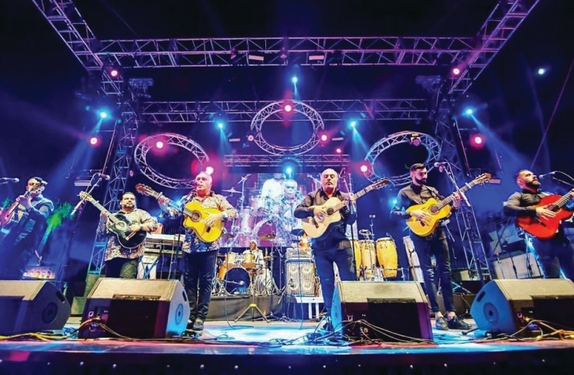 The irrepessible Gipsy Kings are playing in Haifa, Tel Aviv and Beersheba this month. (photo credit: ADI ORNI)
