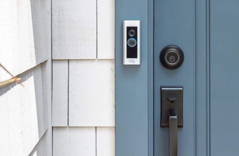 Amazon's Ring Video Doorbell 2. (photo credit: RING)