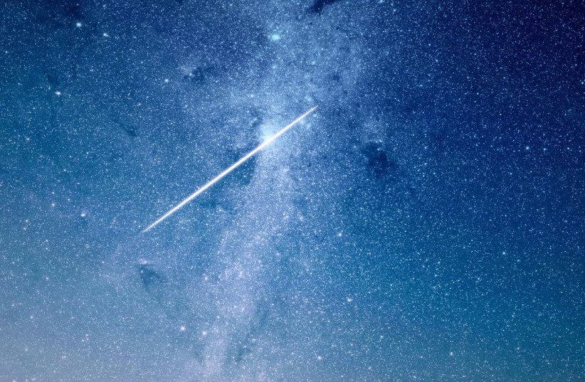 A star in the night sky [Illustrative] (photo credit: PIXABAY)