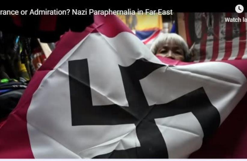 Has Nazism infiltrated Asia? (photo credit: screenshot)