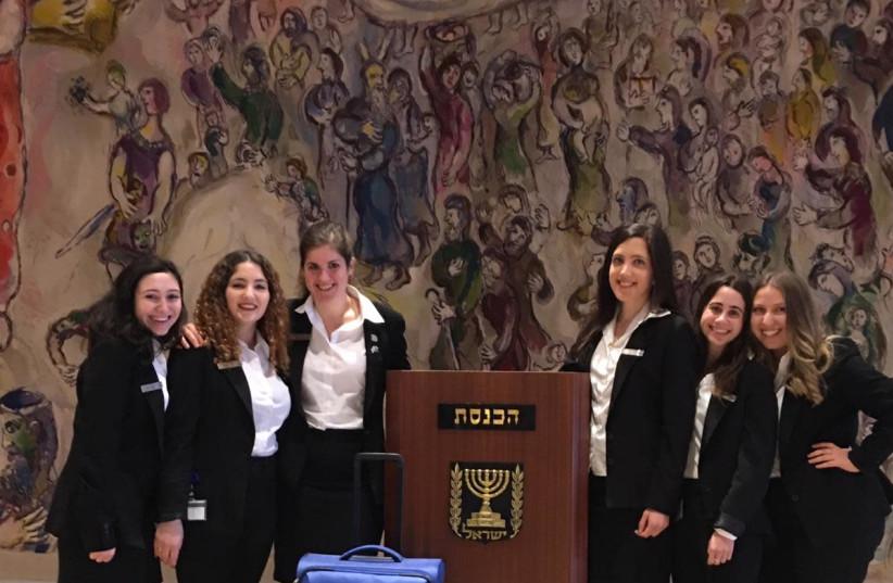 Knesset tour guides (Knesset Spokesman's Office) (photo credit: KNESSET SPOKESMAN'S OFFICE)