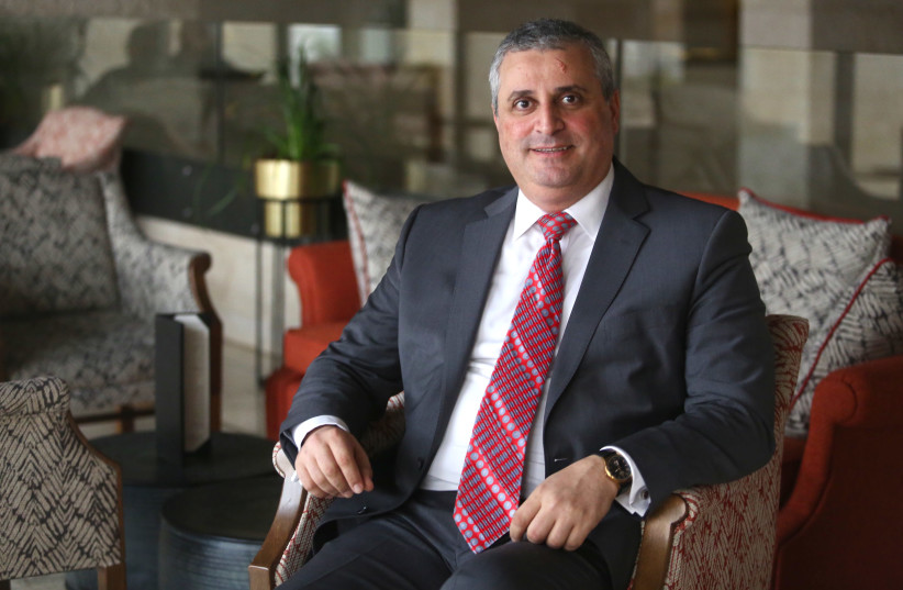 Armenia's Deputy Foreign Minister Grigor Hovhannisyan (photo credit: MARC ISRAEL SELLEM/THE JERUSALEM POST)