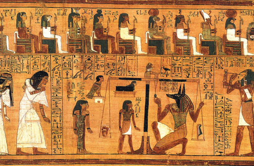 'TO LEAVE the world of Egyptian culture that is based on impure witchcraft and idolatry, which seeks to bequeath to man powers to control the universe through magic...' (photo credit: Wikimedia Commons)