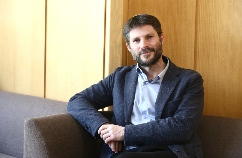 Member of Knesset Bezalel Smotrich, head of the National Union faction of the United Right-Wing Parties (photo credit: MARC ISRAEL SELLEM)