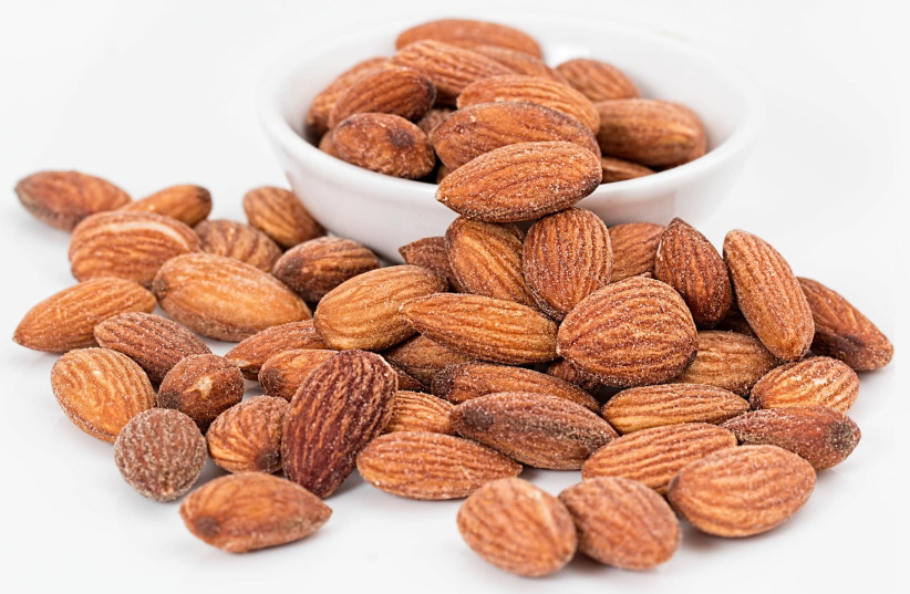 Almonds (photo credit: PIXABAY)