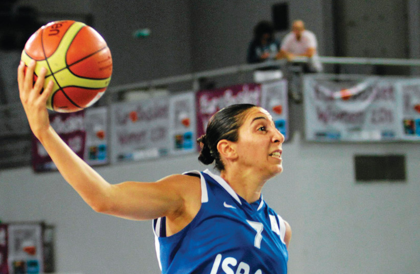 LIRON COHEN was a great ambassador for Israel through her many accomplishments on the basketball court, both at home and all over the globe.  (photo credit: REUTERS)