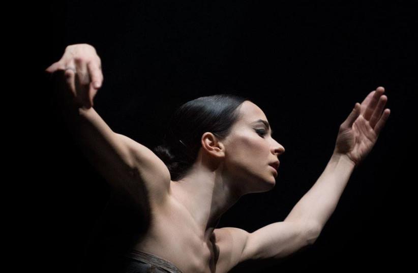 Dina Vishneva in action. (photo credit: IRINA TUMININE)