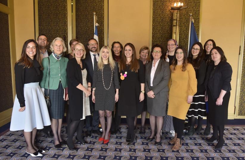The EU Delegation to Israel marks International Women's Day 2019. (photo credit: YOSSI ZWECKER)
