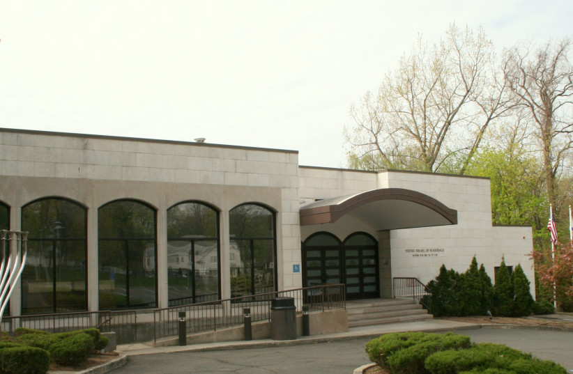 The Young Israel synagogue in Scarsdale, New York (photo credit: YISNY)