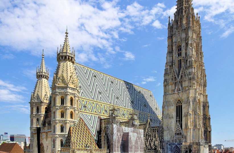 St. Stephen's Cathedral, Vienna. (photo credit: BWAG/WIKIMEDIA COMMONS)