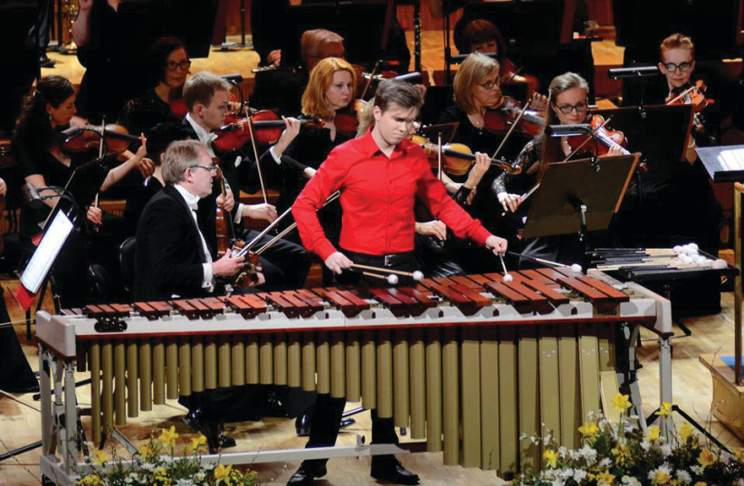 19-YEAR-OLD Tanel-Eiko Novikov: At the concert in Jerusalem, I will even be playing with six mallets at certain moments, so it'll keep me on my toes as well (photo credit: HOOANDJA OVIKOV)