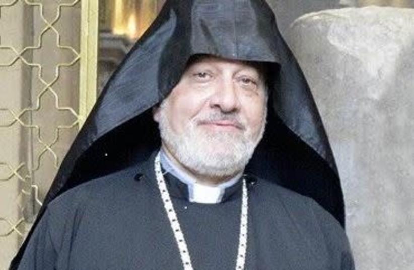 Fr. Hampartzoum  (photo credit: screenshot)