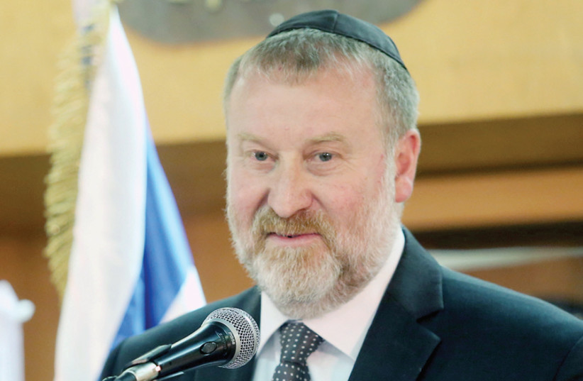 Attorney-General Avichai Mandelblit recommended on February 28 that Netanyahu be indicted, pending a hearing (photo credit: MARC ISRAEL SELLEM)