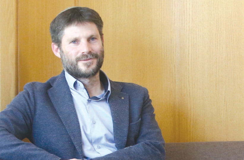 MK BEZALEL SMOTRICH: 'If I become education minister… we will be much more pluralist and open to different attitudes.' (photo credit: MARC ISRAEL SELLEM)