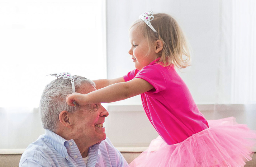 A scene from 'Old People's Home for 4 Year Olds (photo credit: Courtesy)