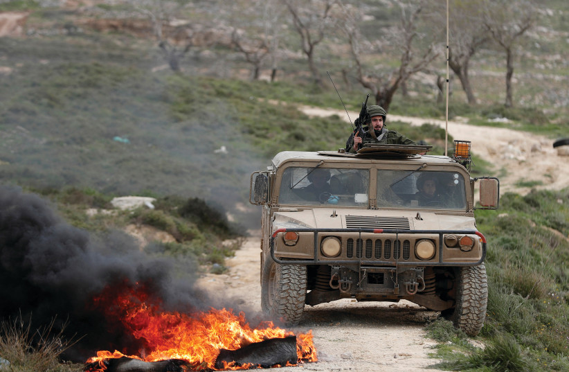 THE GROUND forces should be encouraged to expand their capabilities (photo credit: REUTERS)