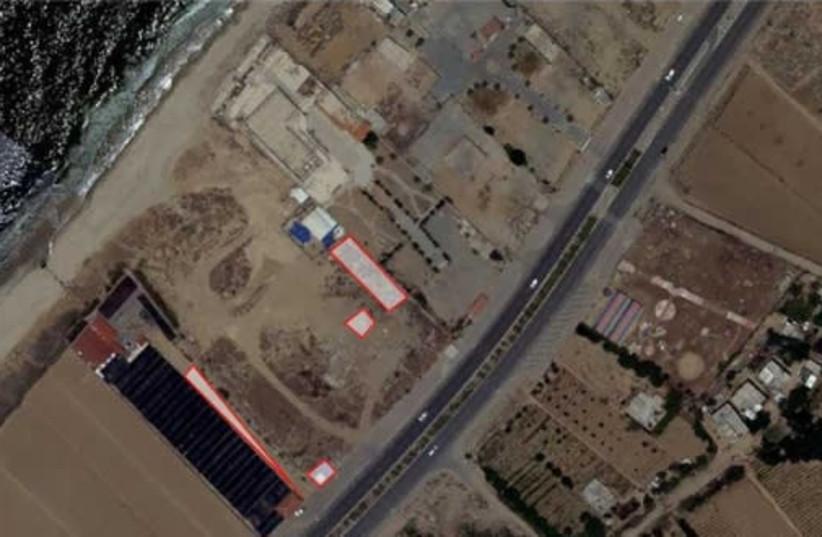 Underground rocket production site (photo credit: IDF)