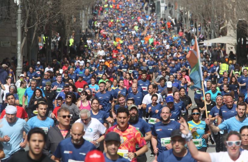 Jerusalem Marathon 2019 (photo credit: MARC ISRAEL SELLEM)