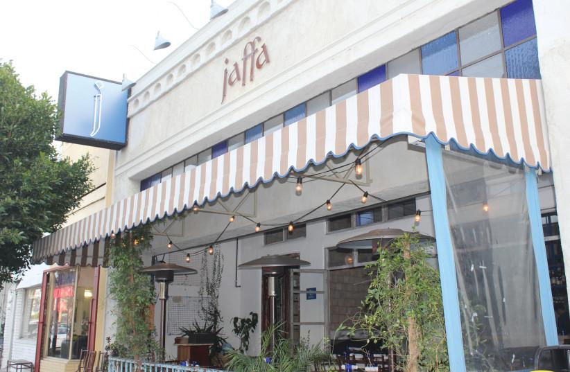 Jaffa.LA on 3rd St., Los Angeles (photo credit: GEORGE MEDOVOY)