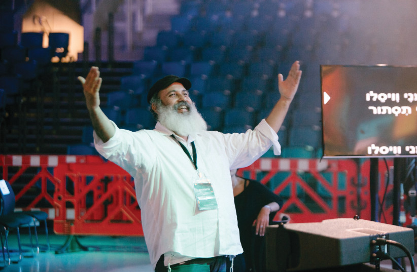 RONEN PELED HADAD: 'Jewish music touches our souls and connects one to another.' (photo credit: EVYATAR NISSAN)