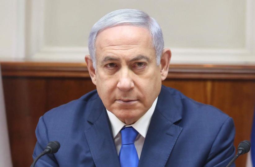 Israeli Prime Minister Benjamin Netanyahu at the Knesset in Jerusalem (photo credit: MARC ISRAEL SELLEM)
