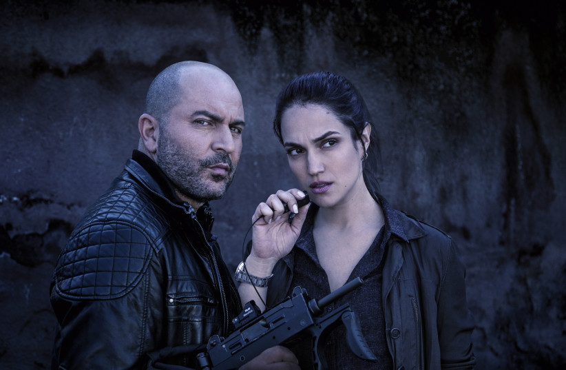 Lior Raz and Marina Maximillian in a teaser for season three of 'Fauda' (photo credit: NATI LEVI)