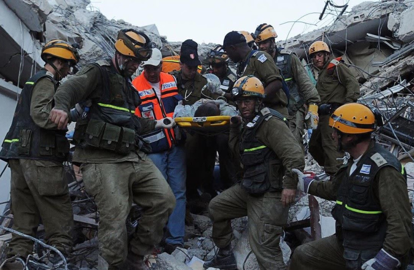 Israeli rescue efforts honored by the UN  (photo credit: Courtesy)