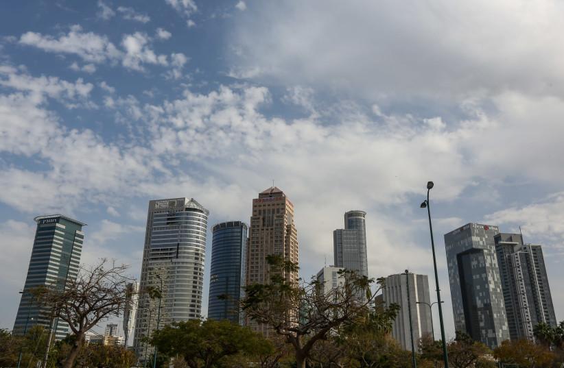 The skyline of Tel Aviv (photo credit: MARC ISRAEL SELLEM/THE JERUSALEM POST)