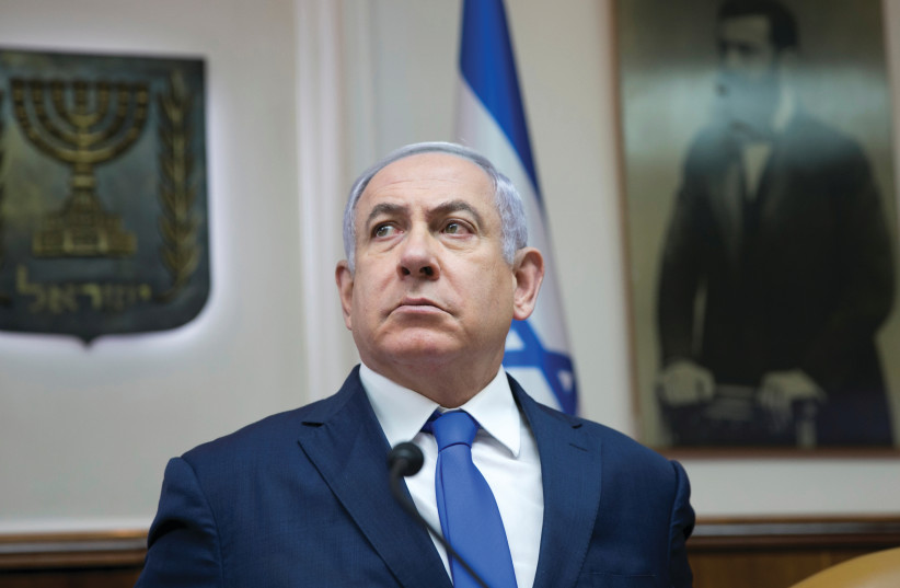 PRIME MINISTER Benjamin Netanyahu.  (photo credit: REUTERS)