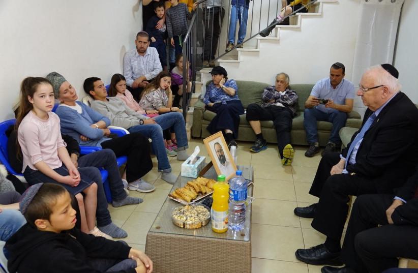 President Rivlin with Ettinger Family (Beit HaNasi) (photo credit: BEIT HANASI)