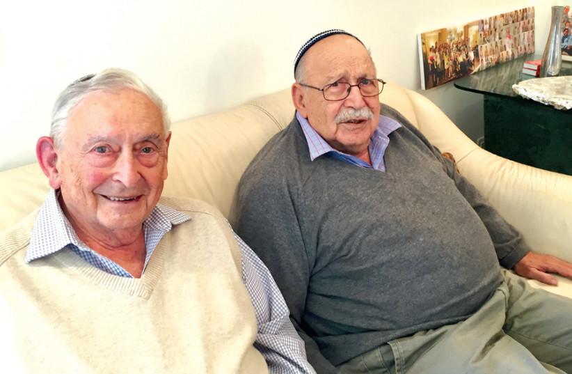 THE BROTHERS Levine: Harold (left) and Philip. (photo credit: MAAYAN HOFFMAN)
