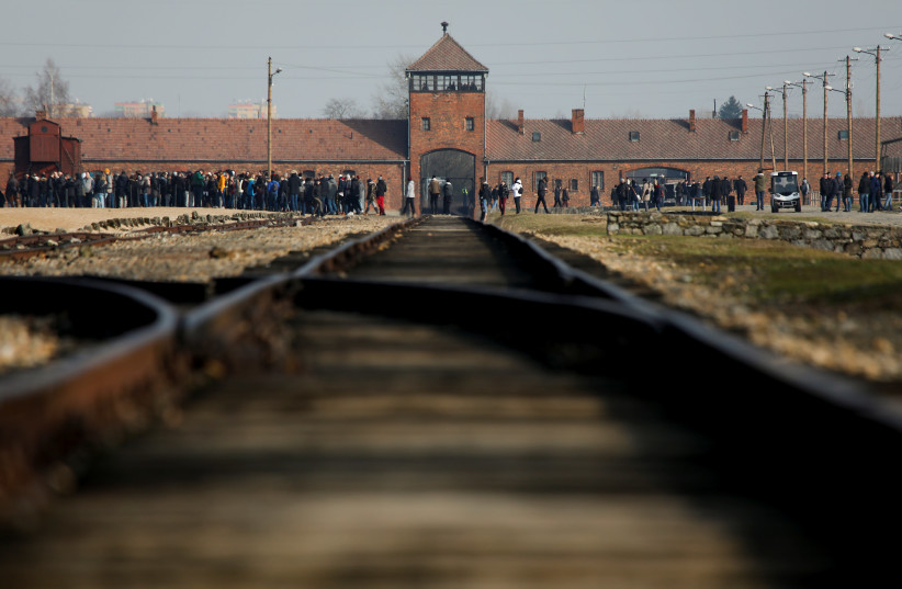 The former concentration camp Auschwitz (photo credit: KACPER PEMPEL / REUTERS)