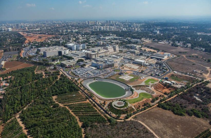 An aerial photo of Sheba Medical Center-Tel Hashomer. (photo credit: SHEBA MEDICAL CENTER)
