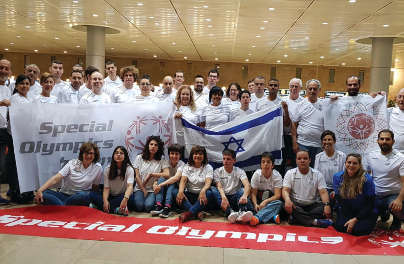ISRAEL'S DELEGATION to the 2019 Special Olympics World Games in Abu Dhabi consisted of 25 athletes – 20 men and five women – who combined to capture 22 medals over four different sports (photo credit: Courtesy)