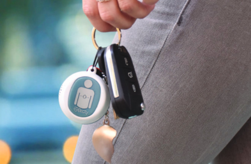 BEATY IS a real time CPR feedback device that allows every person, regardless of their medical knowledge, to provide effective chest compressions (photo credit: Courtesy)