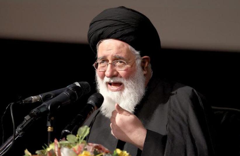 Iranian cleric Ahmad Alamolhoda (photo credit: REUTERS/RAHEB HOMAVANDI)