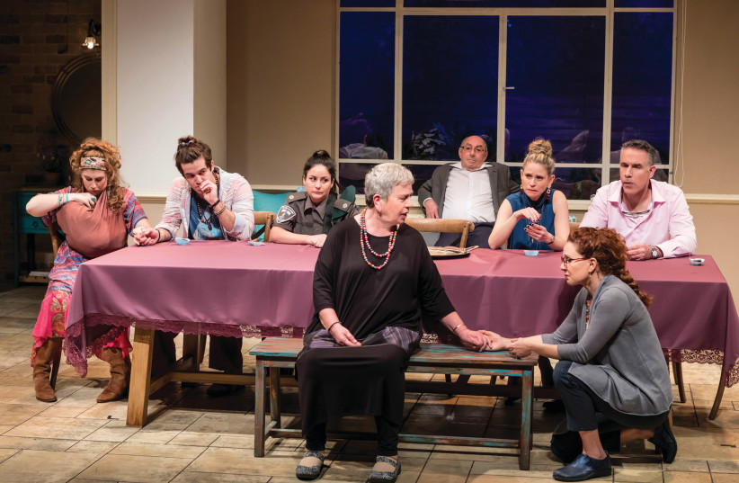 A scene from Anat Gov's 'A Warm Family' (photo credit: KFIR BOLOTIN)