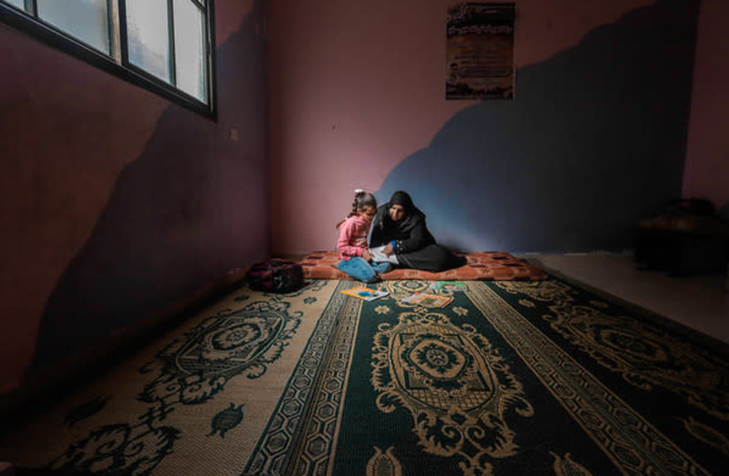 Gaza children experiencing psychosocial distress (photo credit: NORWEGIAN REFUGEE COUNCIL)